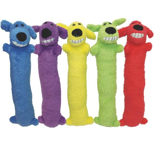 Multipet 12 In. Squeaky Loofa Dog Toy
