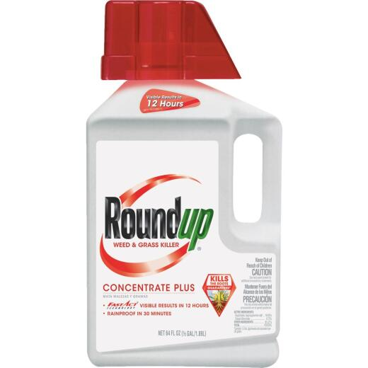 Roundup 1/2 Gal. Concentrate Plus Weed & Grass Killer
