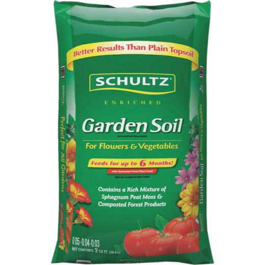 Schultz 2 Cu. Ft. All Purpose Premium Garden Soil