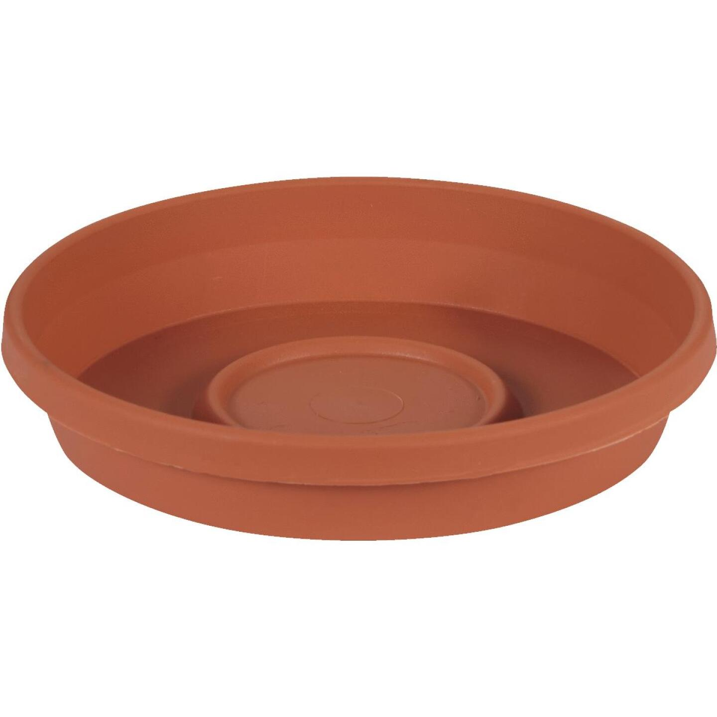 Bloem 6 In. Terracotta Poly Classic Flower Pot Saucer Image 1
