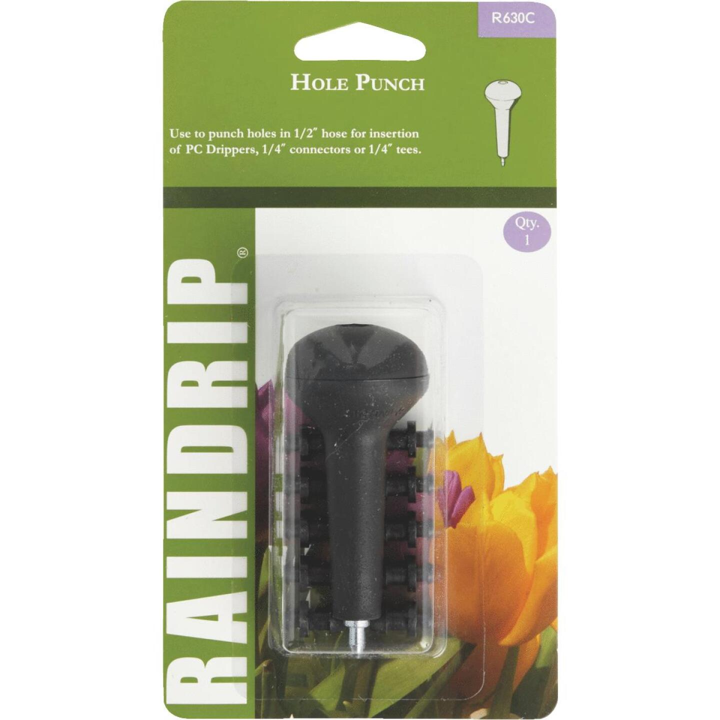 Raindrip 1/2, 5/8, 0.710 In. Tubing Hole Punch with Socket Image 1