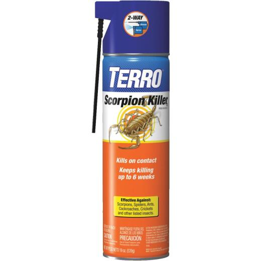 Terro 19 Oz. 2-Way Spray Aerosol Spray Scorpion & Spider Killer