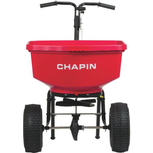 Chapin 100 Lb. Capacity Contractor Broadcast Push Spreader
