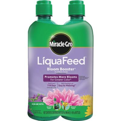 Miracle-Gro 16 Oz. Ea. 12-9-6 Ready To Use Liquid Plant Food