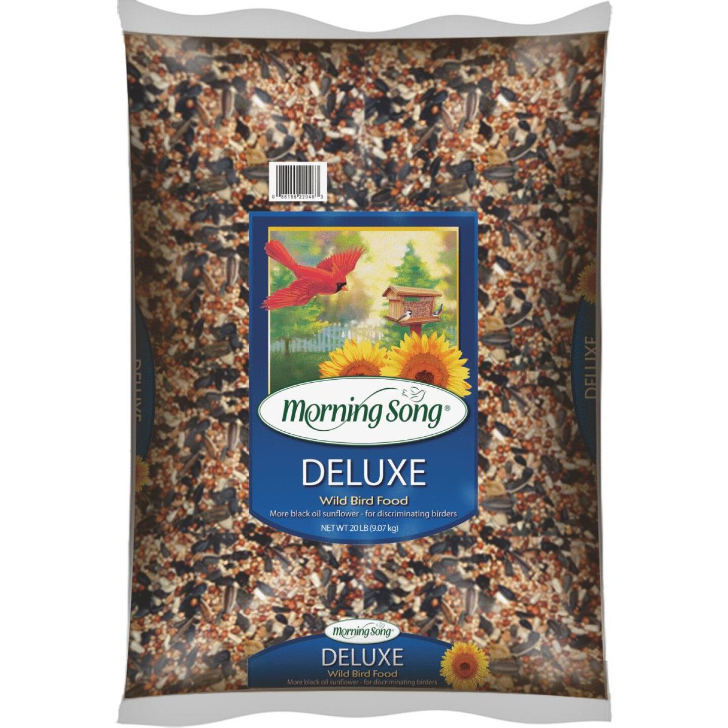 Morning Song 20 Lb. Deluxe Wild Bird Seed Image 1