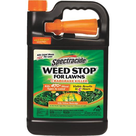 Spectracide Weed Stop For Lawns 1 Gal. Ready To Use Trigger Spray Crabgrass Killer