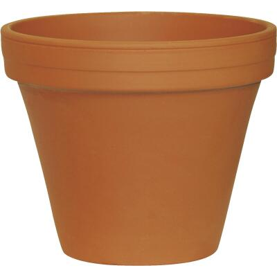 Ceramo 6-3/4 In. H. x 7-3/4 In. Dia. Terracotta Clay Standard Flower Pot