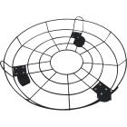 Best Garden 16 In. Coated Metal Wire Rolling Plant Caddy Image 1