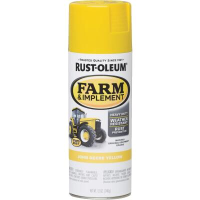 Rust-Oleum 12 Oz. John Deere Yellow Farm & Implement Spray Paint