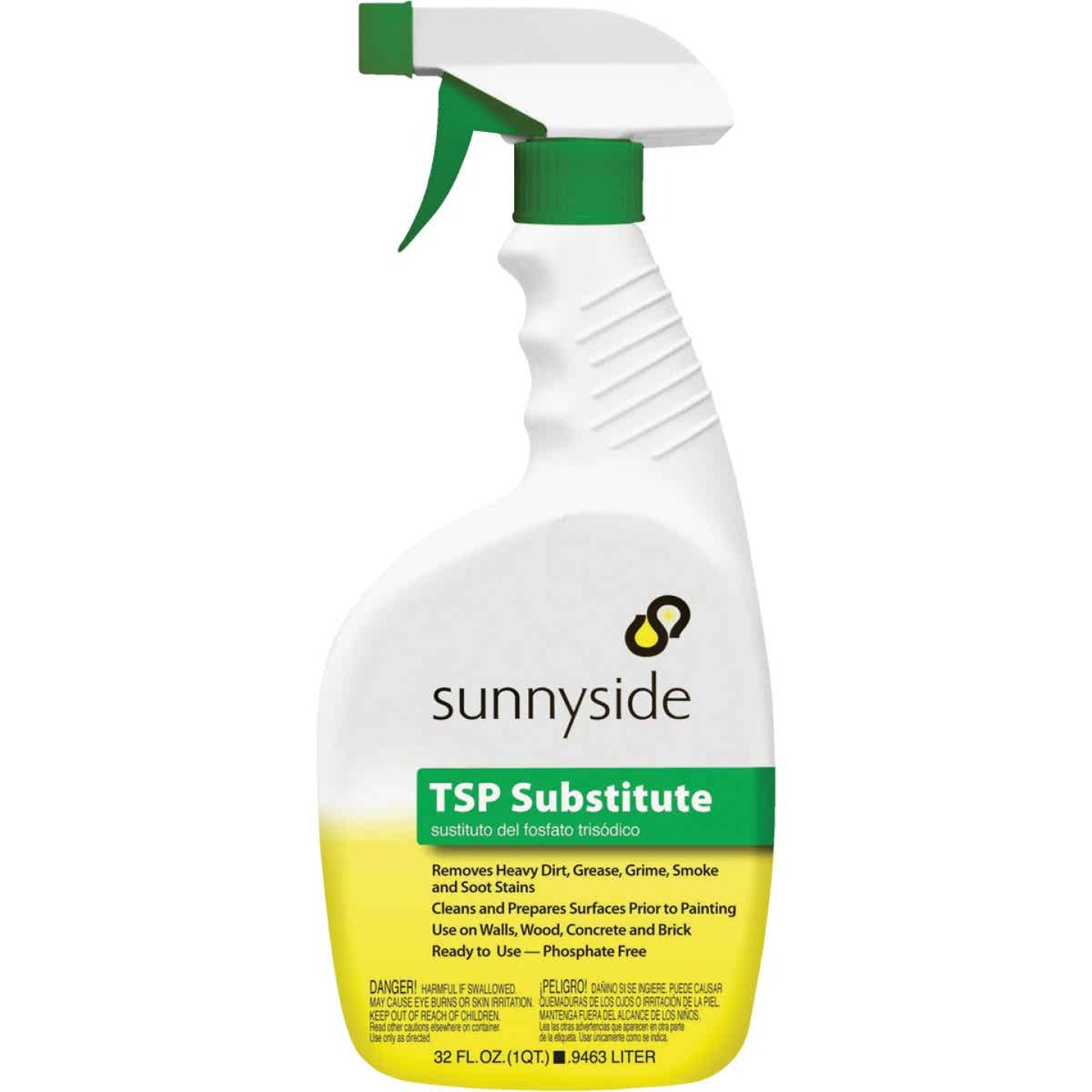 Sunnyside 1 Qt. Ready To Use Trigger Spray TSP Substitute Cleaner Image 1