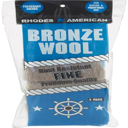 Homax Fine Bronze Wool (3 Pack)