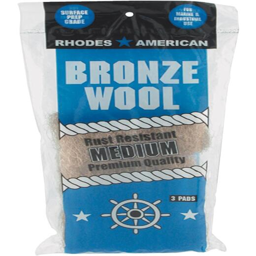 Homax Medium Bronze Wool (3 Pack)