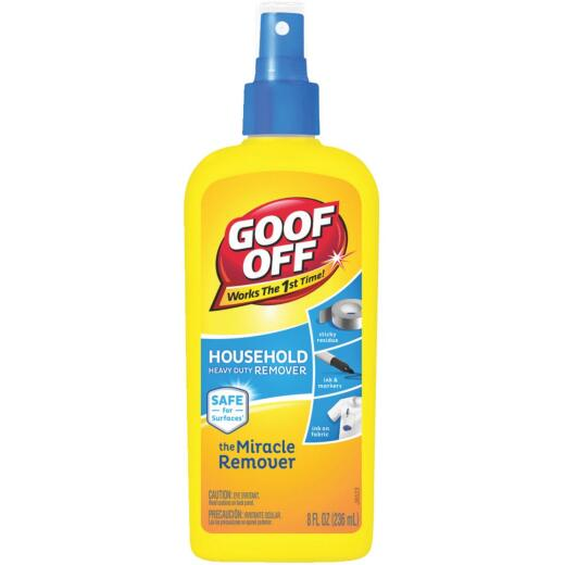 Goof Off 8 Oz. Pump Spray Household Heavy-Duty Dried Paint Remover