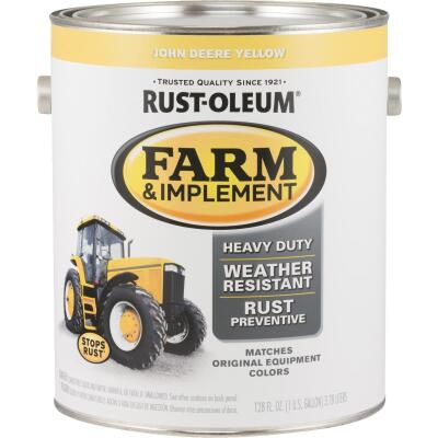 Rust-Oleum 1 Gallon John Deere Yellow Gloss Farm & Implement Enamel