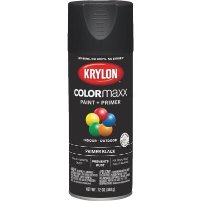 Krylon ColorMaxx Black 12 Oz. All-Purpose Spray Paint Primer