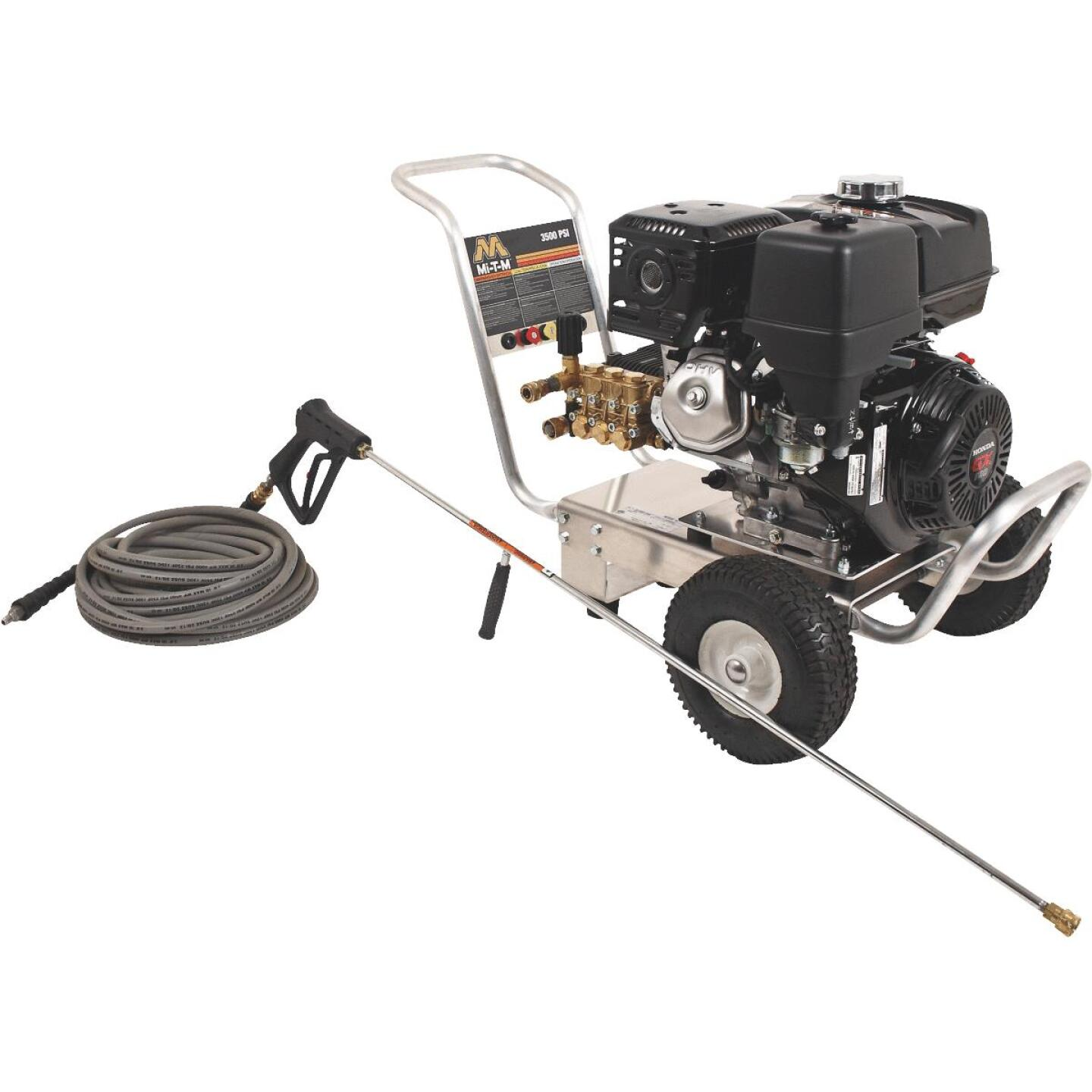 Mi-T-M 3500 psi 3.5 GPM Cold Water Gas Pressure Washer Image 1
