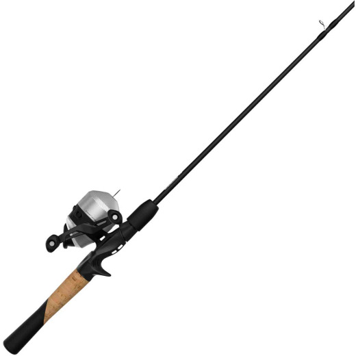 Zebco 33 5 Ft. 6 In. Z-Glass Fishing Rod & Spincast Reel with Tackle Wallet