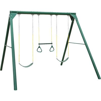 Swing N Slide Wood Complete Orbiter Swing Set Kit
