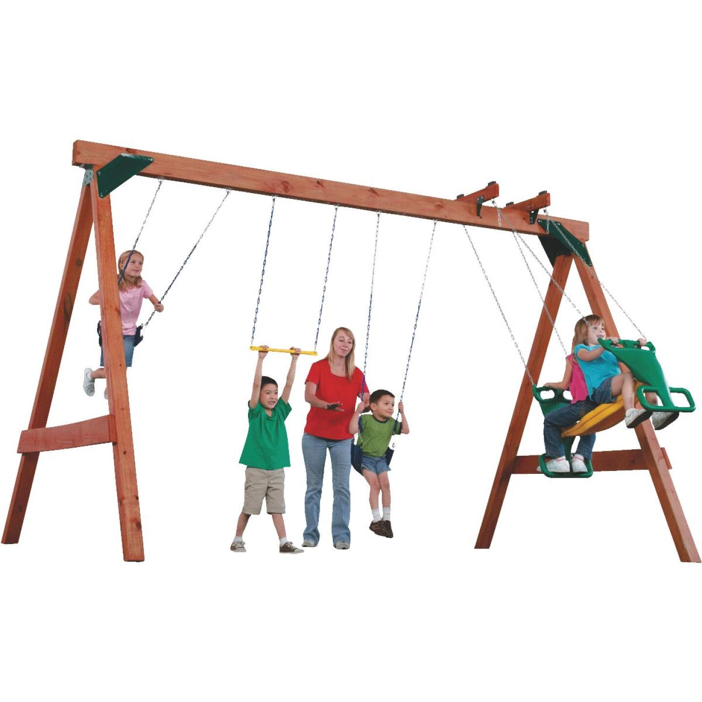 Swing N Slide Scout Swing Set Kit Image 1