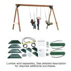 Swing N Slide Scout Swing Set Kit Image 2