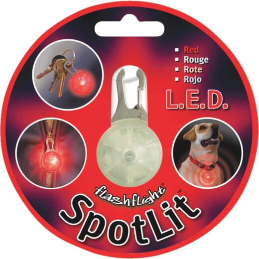 Nite Ize Spotlit LED Flashlight Red Carabiner Light