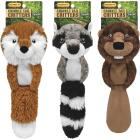 Westminster Pet Ruffin' it Crinkle Tail Critters 15 In. Squeaky Fox Dog Toy Image 1