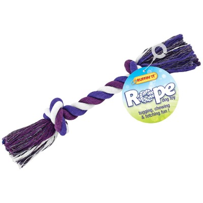 Westminster Pet Ruffin' it Medium Multi-Colored Rope Tug Dog Toy