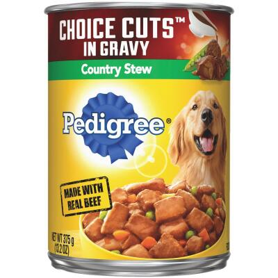 Pedigree Choice Cuts in Gravy Country Stew Wet Dog Food, 13.2 Oz.