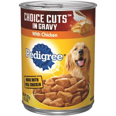 Pedigree Choice Cuts in Gravy with Chicken Wet Dog Food, 13.2 Oz.