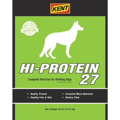 Kent Hi-Protein 27 40 Lb. Adult Dry Dog Food