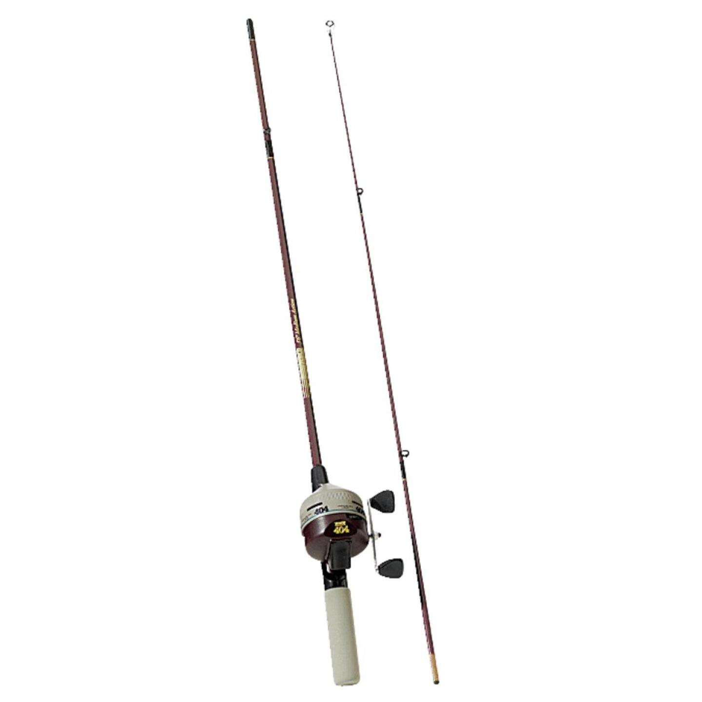 Zebco 404 5 Ft. 6 In. Z-Glass Fishing Rod & Spincast Reel Image 1