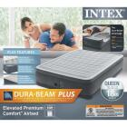 Intex Queen Size Air Mattress with Built-In Electric Pump Image 3
