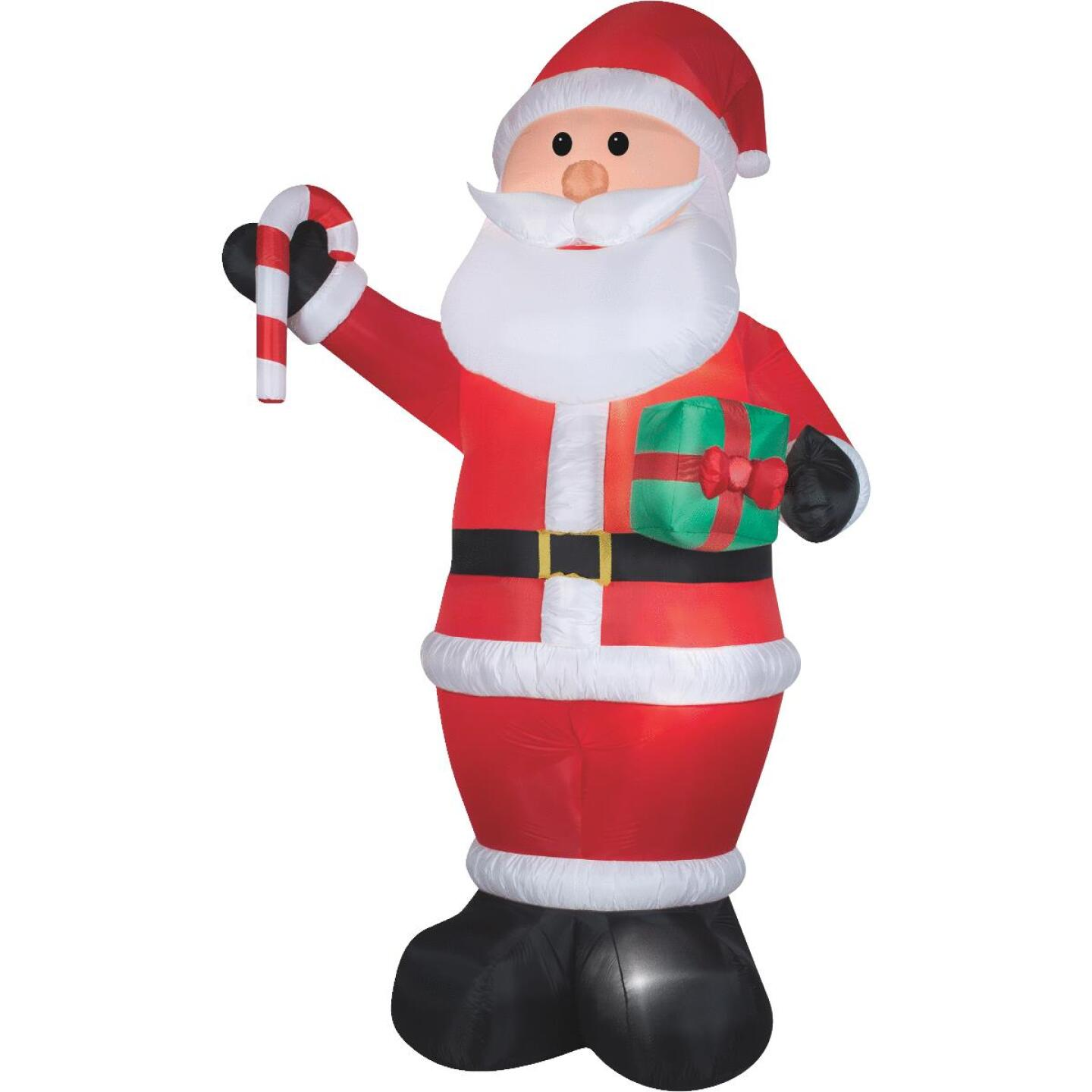 Gemmy 6-1/2 Ft. W. x 12 Ft. H. Airblown Inflatable Santa Image 1