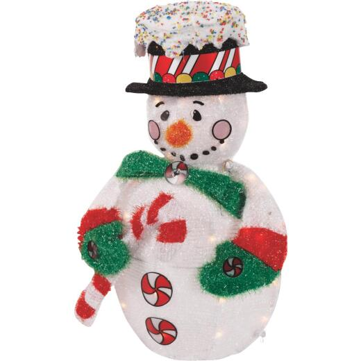 Product Works 32 In. Incandescent Jolly Snowman Holiday Figure