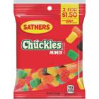 Sathers Assorted Fruit Flavors 3.0 Oz. Mini Chuckles Image 1