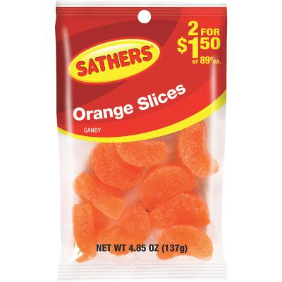 Sathers 4.85 Oz. Orange Slices