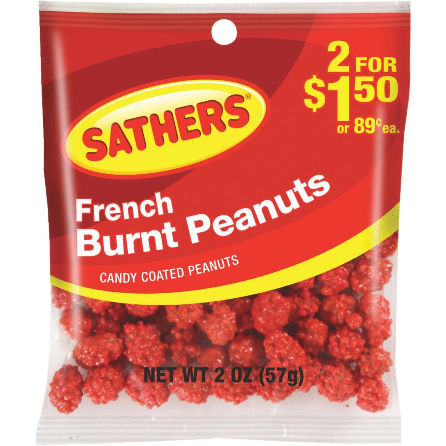 Sathers 2 Oz. French Burnt Peanuts Image 1