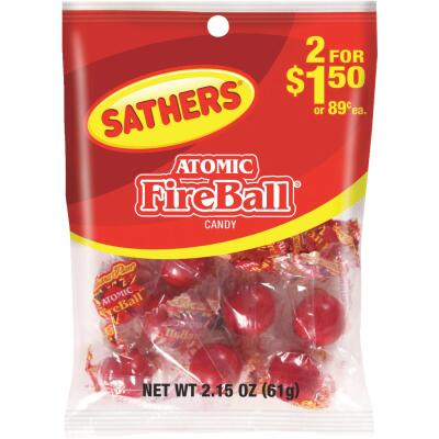 Sathers 2.15 Oz. Atomic Fireball