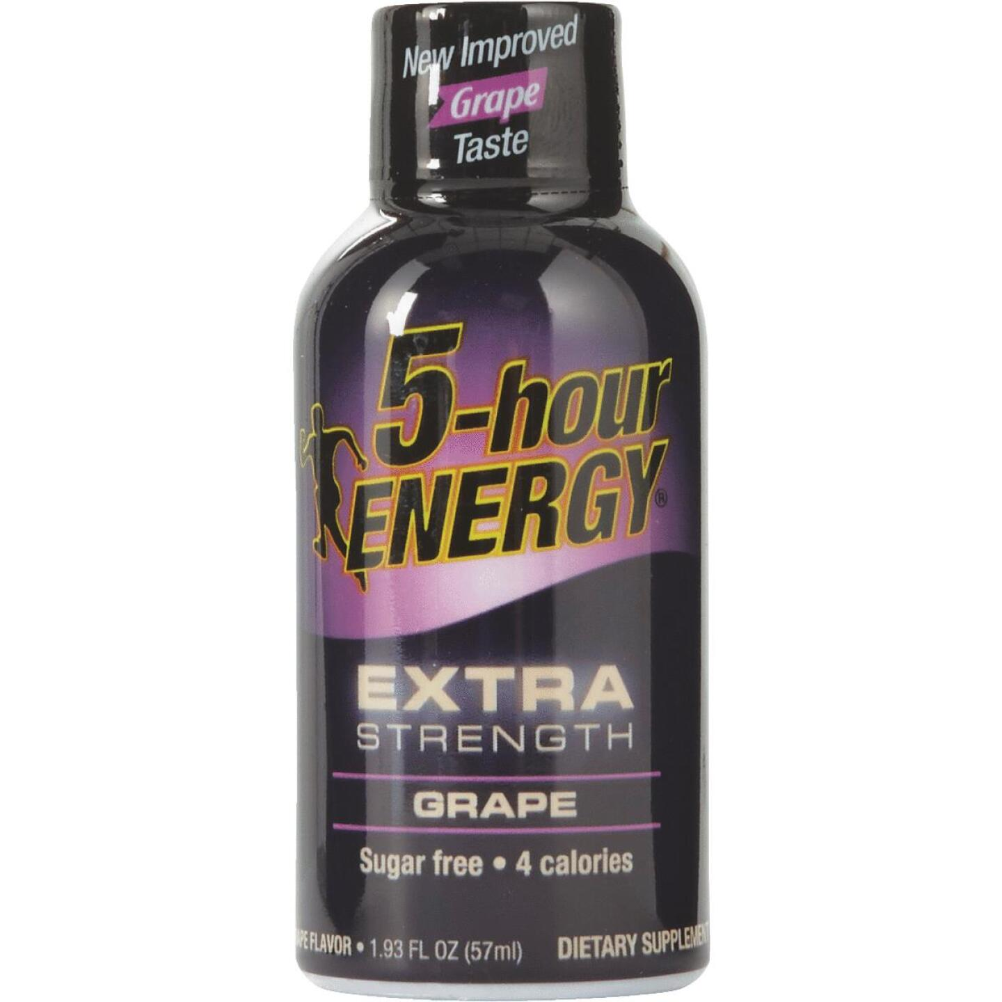 5 Hour Energy 1.93 Oz. Extra-Strength Grape Flavor Energy Drink Image 1