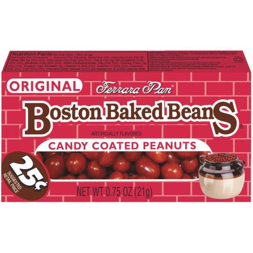 Sathers Candy Covered Peanuts 0.8 Oz. Boston Baked Beans