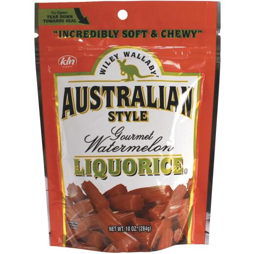 Wiley Wallaby Watermelon Liquorice 10 Oz. Candy