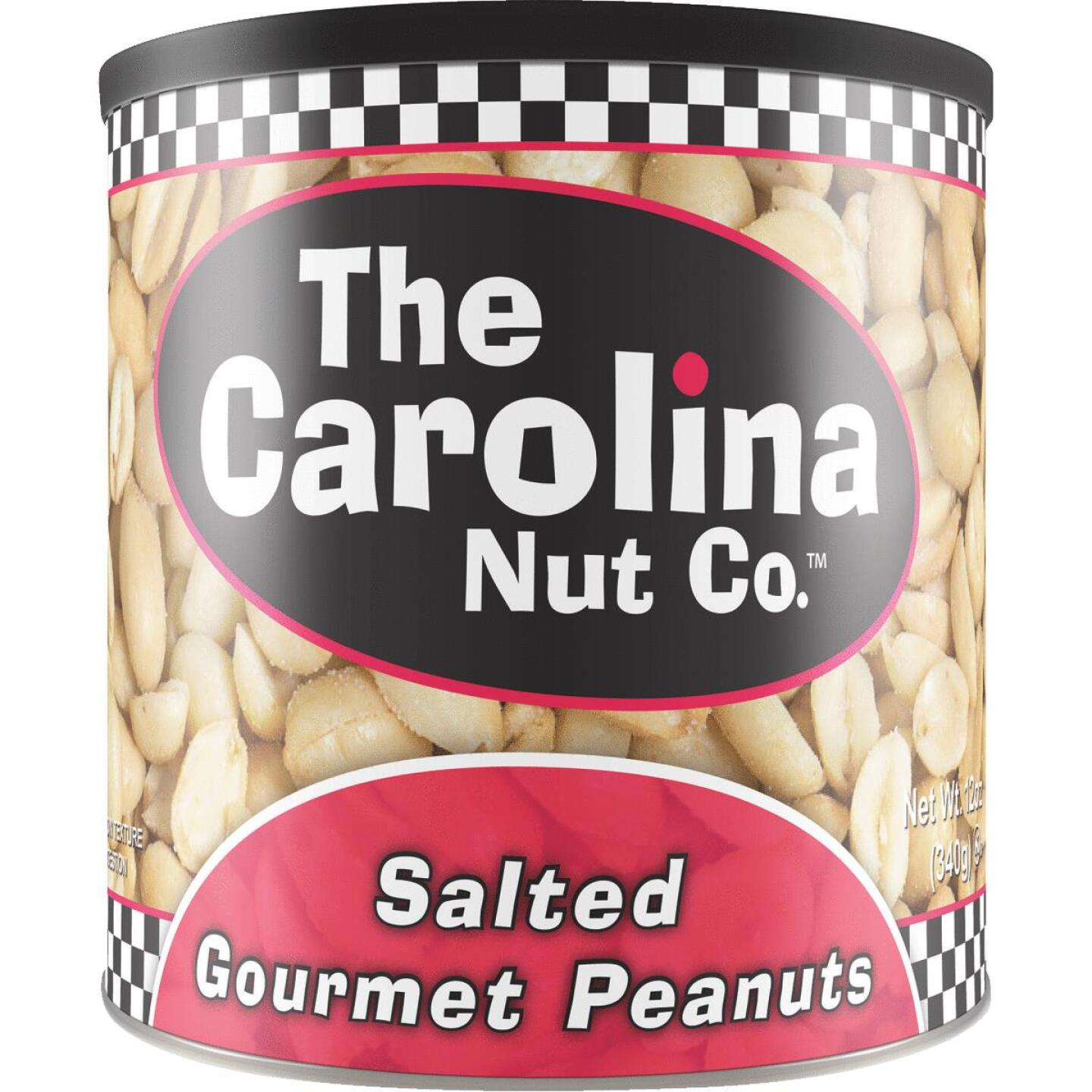 The Carolina Nut Company 12 Oz. Salted Peanuts Image 1