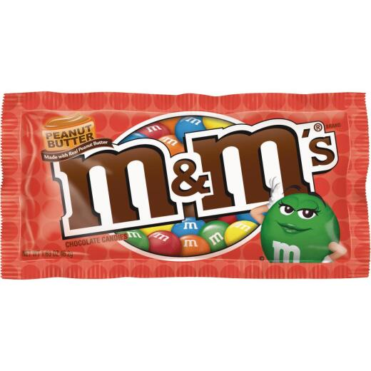 M&M's Peanut Butter 1.63 Oz. Candy